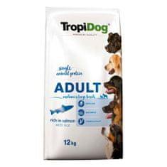 TROPIDOG Premium Adult Medium & Large 12kg losos