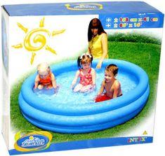 Intex Nafukovací bazénik - modrý - 168 x 38 cm