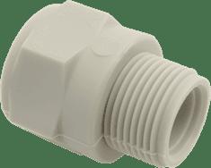 """FV PLAST Prechodka s plastovým závitom vonkajším PPR 32x1"""" 213032"""