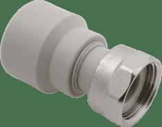 """FV PLAST Nátrubok-prechodka plastová s prevlečnou maticou 25x1"""" 226026"""