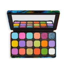 Makeup Revolution Paletka očných tieňov Forever Flawless Bird of Paradise (Eyeshadow Palette) 19,8 g