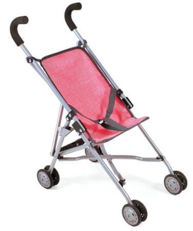 Bayer Chic Mini-Buggy Roma Játék babakocsi, Rózsaszín