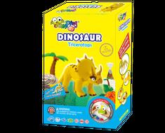 Jumping Clay Sada modelíny k výrobě dinosaura Triceratopa
