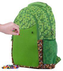 Pixie Crew Minecraft kreativna školska torba, zeleno-smeđa