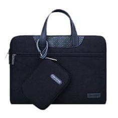 Cartinoe Lamando taška na notebook 12'', čierna