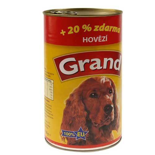 GRAND s hovädzím mäsom 1.300g