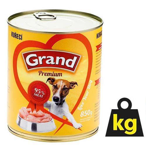 GRAND s kuracím mäsom 850g 95% mäsa