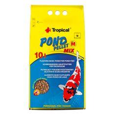 TROPICAL Pond Pellet Mix Size M 10l/1100g plávajúce krmivo pre jazierkové ryby