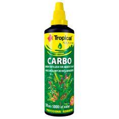 TROPICAL Carbo 100ml na 5.000l uhlíkové hnojivo pre akvarijné rastliny