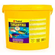 TROPICAL Tanganyika 5l/1kg krmivo pre všežravé a mäsožravé cichlidy z jazera Tanganika