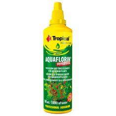 TROPICAL Aquaflorin Potassium 100ml 1.000l vízhez ásványi készítmény káliummal vízi növényekre