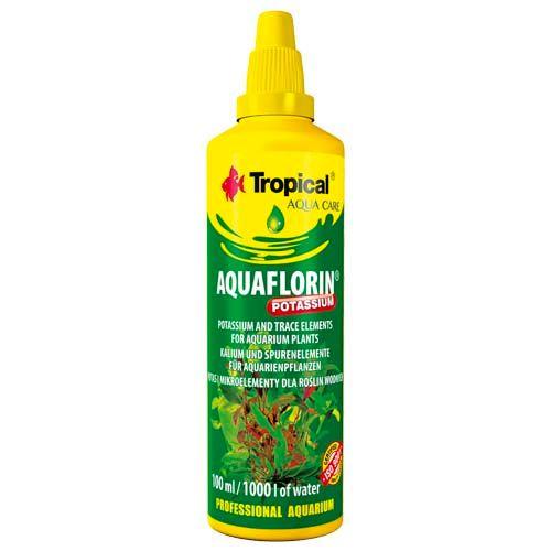 TROPICAL Aquaflorin Potassium 100ml na 1.000l minerálny preparát s draslíkom pre vodné rastliny