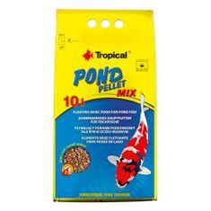 TROPICAL Pond Pellet Mix Size S 10l/1300g plávajúce krmivo pre jazierkové ryby