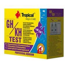 TROPICAL TEST GH/KH test na meranie tvrdosti vody s metódou titrácie