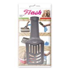 COBBYS PET Flash 26 x 10 x 7cm špecialna lopatka na podstielku s otváratelnou rúčkou
