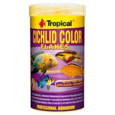 TROPICAL Cichlid Color 250ml/50g základné krmivo s vysokým obsahom bielkovín pre cichlidy