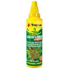 TROPICAL Aquaflorin Potassium 50ml 500l vízhez ásványi készítmény káliummal vízi növényekre