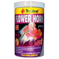 TROPICAL Flower Horn Young Pellet 1000ml/380g színfokozó haltáp Flowerhorn és egyéb sügérek számára