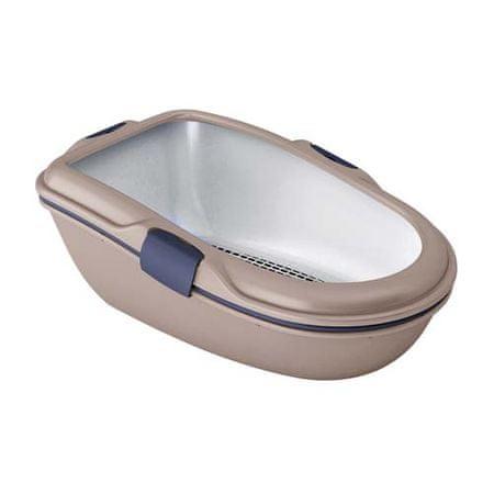 Stefanplast Furba Chic MAXI light dove grey 69,5x47x26 cm macska WC