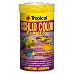 TROPICAL Cichlid Color 100ml/20g základné krmivo s vysokým obsahom bielkovín pre cichlidy