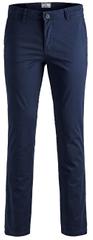 Jack&Jones Moške hlače JJIMARCO 12150148 Navy Blaze r