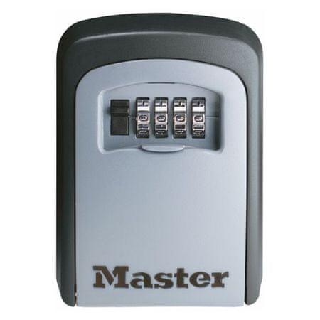 MasterLock Skrzynka bezpieczeństwa do przechowywania kluczy i kart dostępu 5401EURD