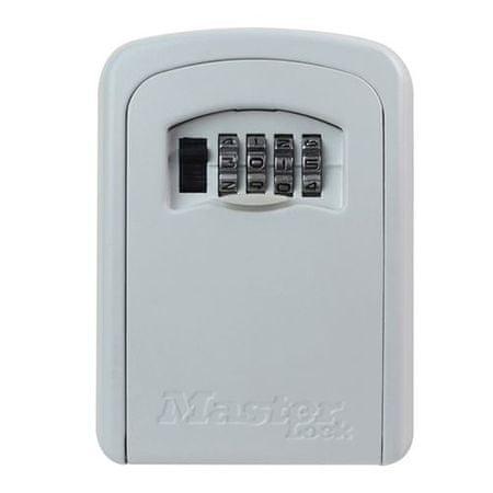 MasterLock Skrzynka bezpieczeństwa do przechowywania kluczy i kart dostępu 5401EURDCRM