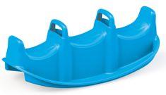 DOLU Gyerek hármas hinta, műanyag, kék