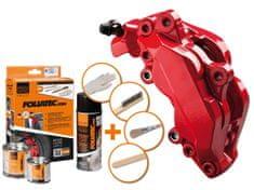 Foliatec dvousložková barva na brzdy červená (Racing rosso)