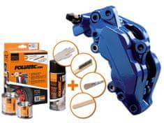 Foliatec dvousložková barva na brzdy modrá (RS blue)