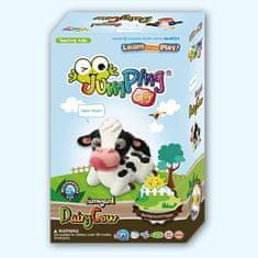 Jumping Clay Sada modelíny k výrobě kravičky