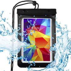 """MG univerzálne vodotesné púzdro na tablet 8"""", čierne"""