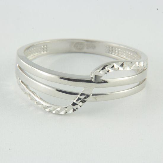 Amiatex Zlatý prsten 64386 + Ponožky Sophia 2pack visone, 52, 1.95 G