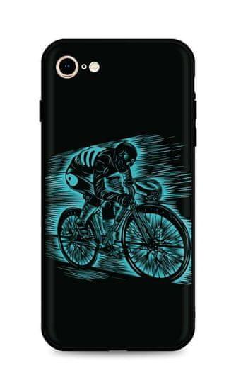 TopQ Kryt iPhone SE 2020 silikon Speeding 49297