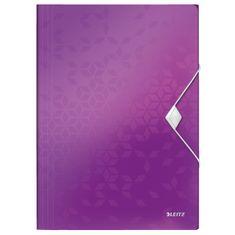 LEITZ Dosky na spisy WOW purpurovej