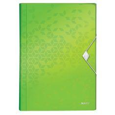 Leitz Aktovka s přihrádkami WOW zelená