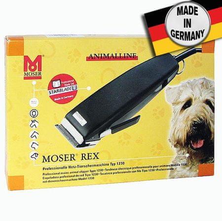MOSER REX POWER +++ 1230 15W kutyanyírógép