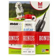 Moser MAX50 230V 50-60Hz ergonomický stříhací strojek,čepel 1mm