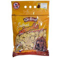 GRAND Piskóta kutyáknak kalciummal és magnéziummal 500g ZIP csomagolás