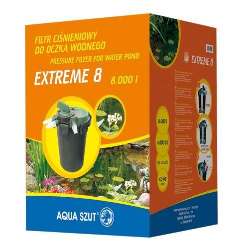 Aqua Szut EXTREME 8 tlakový filter na 8.000l, 4.000 l/h ideálne s KASKADA 3600