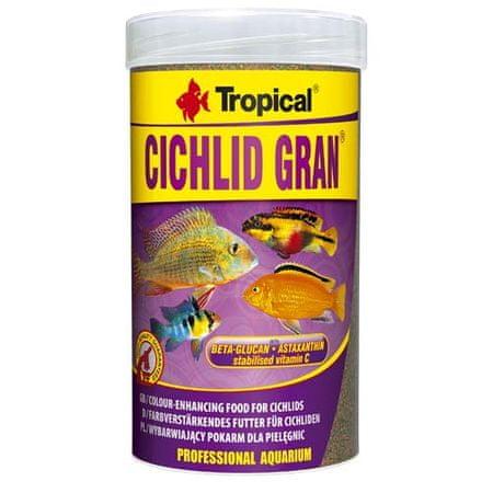 TROPICAL Cichlid Gran 250ml/138g haltáp sügéreknek béta-glükánnal