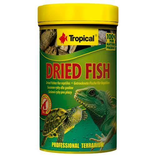 TROPICAL Dried Fish 100ml/15g sušené ryby pre plazy