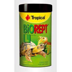 TROPICAL Biorept L 100ml/28g krmivo ve formě tyčinek pro suchozemské želvy