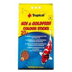 TROPICAL Koi&Goldfish Colour Sticks 20l/1600g vyfarbujúce krmivo pre jazierkové ryby