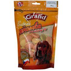 GRAND Piskóta kutyáknak kalciummal és magnéziummal 100g három színű