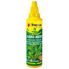 TROPICAL Ferro-Aktiv 50ml na 500l doplnkové hnojivo pre akvarijné rastliny