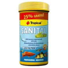 TROPICAL Sanital + aloe 100ml/120g špeciálna akvaristická soľ