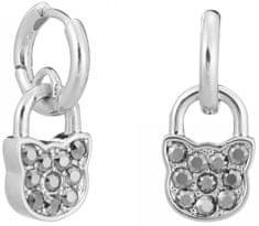 Karl Lagerfeld Mačacie náušnice Lock & Key 5512253