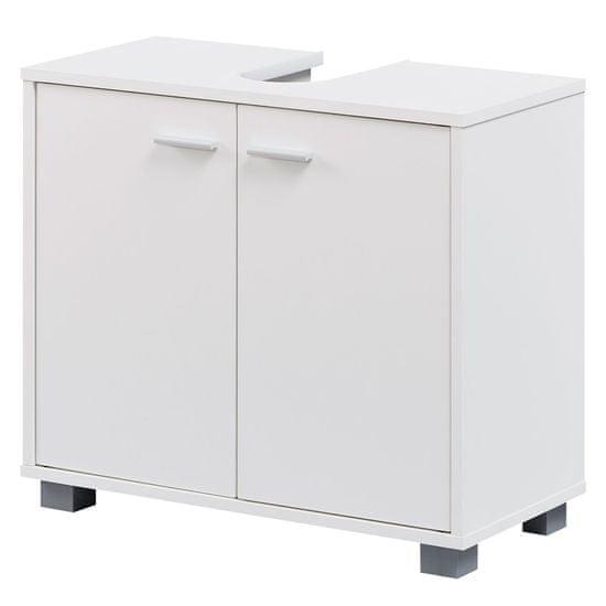 Bruxxi Kúpeľňová skrinka Edda, 60 cm, biela