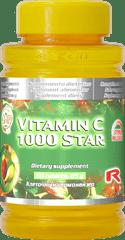"""Starlife VITAMIN C 1000 STAR, 60 tab. """"Imunita, podpora a reg. tkanív"""""""